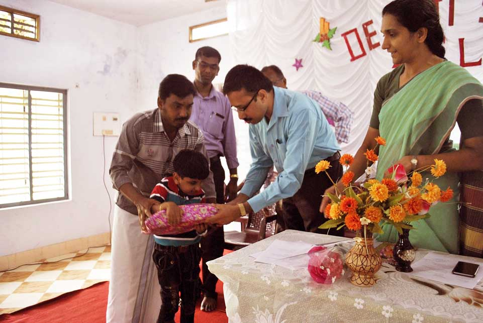 Inauguration of Classes for Visually Challenged